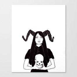 Horns Canvas Print
