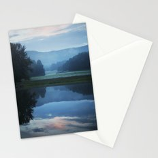 Sunset in the Great Smoky Mountains Stationery Cards