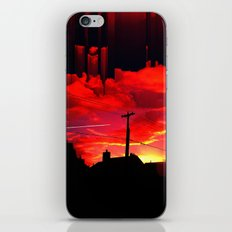Dreaming On A Train iPhone & iPod Skin