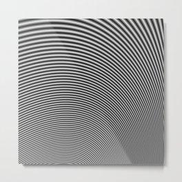 Fractal Op Art 2 Metal Print