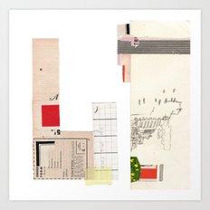 Order Form Art Print