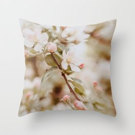 Fall in spring III Throw Pillow