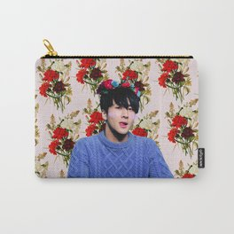 Flower Boy Ravi Carry-All Pouch
