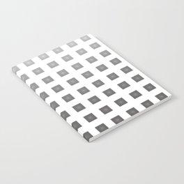 GRAY + WHITE Notebook