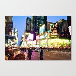 Glowing Ambitions Canvas Print