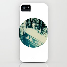 Calling All Skeletons No.2 iPhone Case