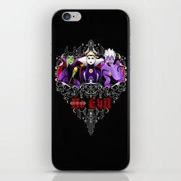 Three Wise Villains iPhone Skin