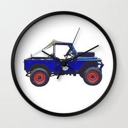 1955 Land Rover - Mavis Wall Clock