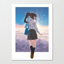 Sleep Walk Canvas Print