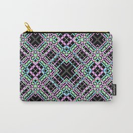 Geometric pattern.Cell oblique .  1 Carry-All Pouch