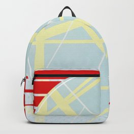 Crossroads ll - red graphic Backpack