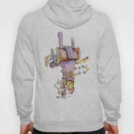 CandyHand Zombie  Hoody