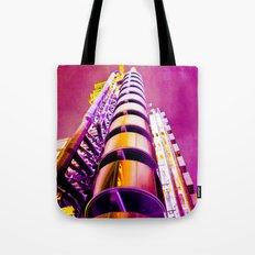 Lloyd's of London Building Art Tote Bag