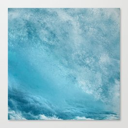 Pounding Waves Canvas Print