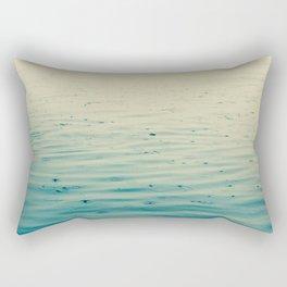 Stand In The Rain Rectangular Pillow
