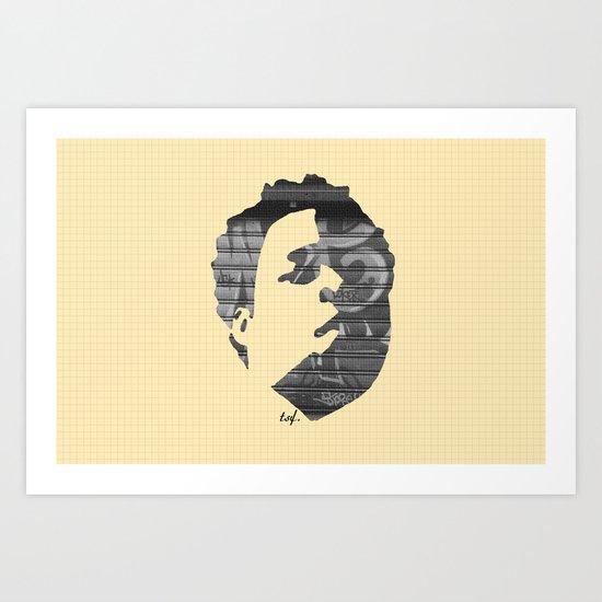 Dynamik Face Art Print