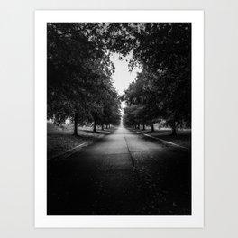 The Lone Walk Art Print