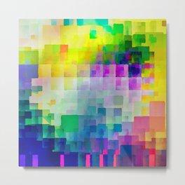 Exploded Spectrum Metal Print