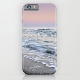 Moonrise. Mediterranean sea. At sunset. Marbella. Spain iPhone Case