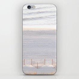 Early Morning #wallart #beach #sand #sunrise iPhone Skin