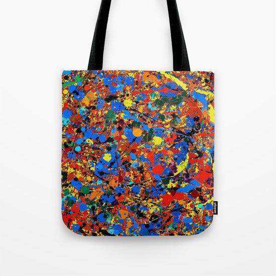 Abstract #744 Veronica Tote Bag