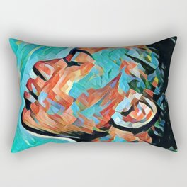 River Mumma Rectangular Pillow