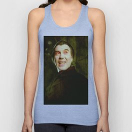 Christopher Lee, Dracula Unisex Tank Top
