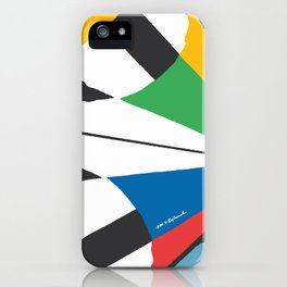 Kite—Sky Blue iPhone Case