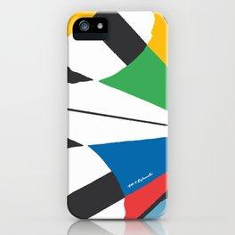 Kite—Sky Blue iPhone Case
