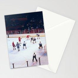 Vintage Hockey Match Stationery Cards