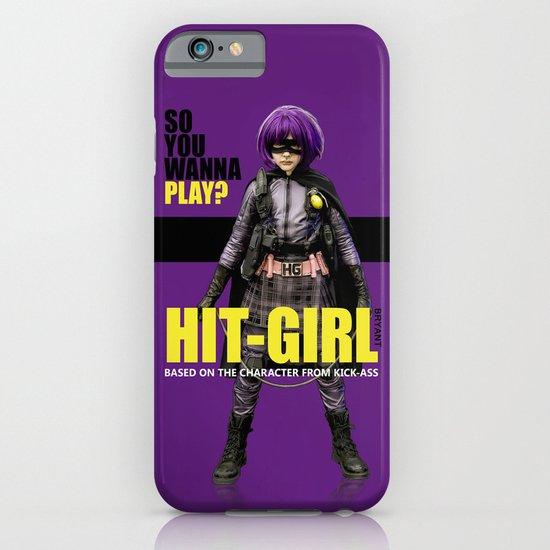 Hit-Girl iPhone & iPod Case