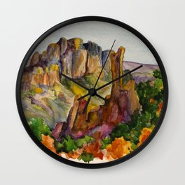 Big Bend National Park Wall Clock