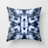 metal Throw Pillows featuring Metal by Assiyam