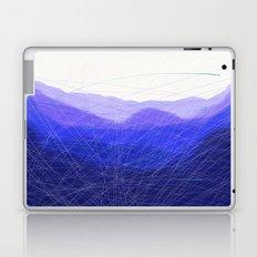 Blue Remembered Hills Laptop & iPad Skin