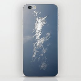 Lonely as a cloud iPhone Skin