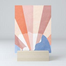 Look at the bright side Mini Art Print