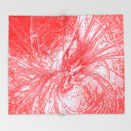 Splatter in Fruit Punch Throw Blanket