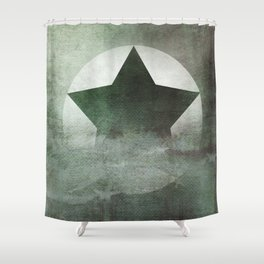 Star Composition IV Shower Curtain