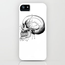 Skull 3 iPhone Case