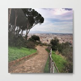 Monte Mario stunning view.  Metal Print