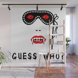 Halloween Guess Who Vampire Beauty Wall Mural