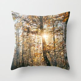 Autumn Trees II Throw Pillow