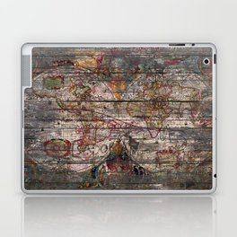 Old Map - New World Laptop & iPad Skin