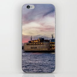 Red Sky Ferry iPhone Skin