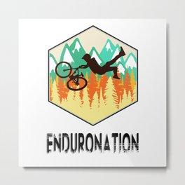 Enduronation Superman Metal Print