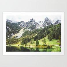 Alps in Austria. Art Print