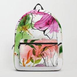 Flowers 2 Backpack