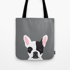 Parker - French Bulldog animal art modern colors for dog people Tote Bag