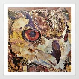 Great Horned Owl by C.E. White Art Print