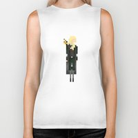 legolas Biker Tanks featuring Legolas by LOVEMI DESIGN